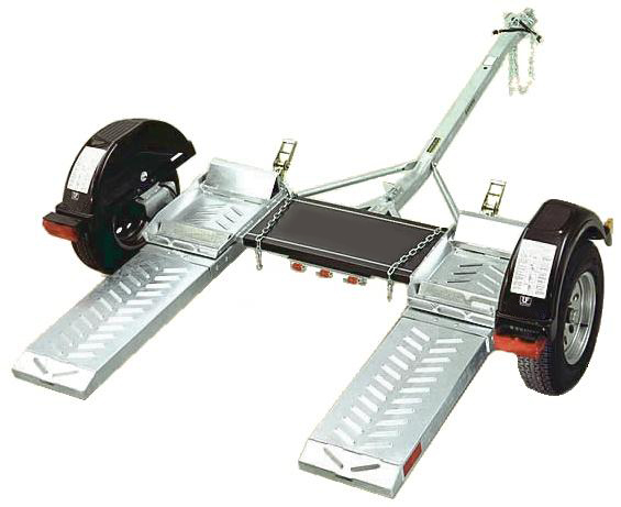 Dinghy Towing with a Tow Bar or Tow Dolly for your RV